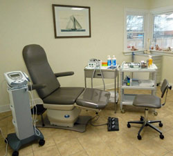 Clinic for foot health in Burlington