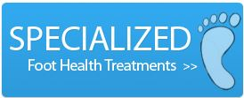 Specialized foot care treatments by Dr. Wilson in Burlington, Ontario